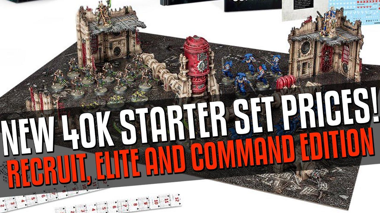 40K NEW Starter Set Prices! £32.50, £65, £105