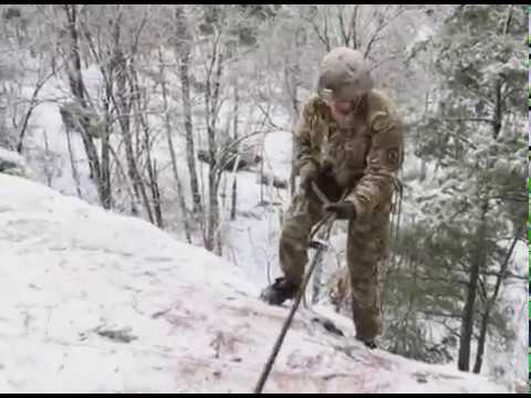 10th Mountain Division's Mountain Warfare Course