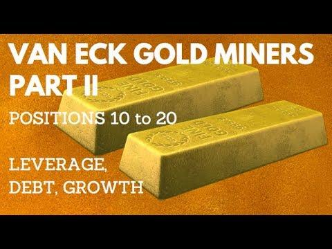 VAN ECK GOLD MINERS PART 2 - 10 TO 20