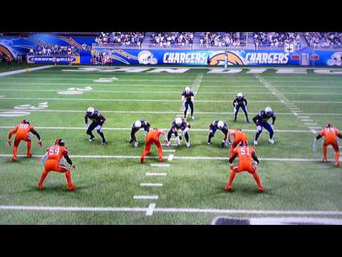 Broncos @ Chargers Thursday Night Football Week 6 Madden 17