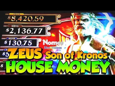 House Money Zeus Son Of Kronos Slot Machine Long Play
