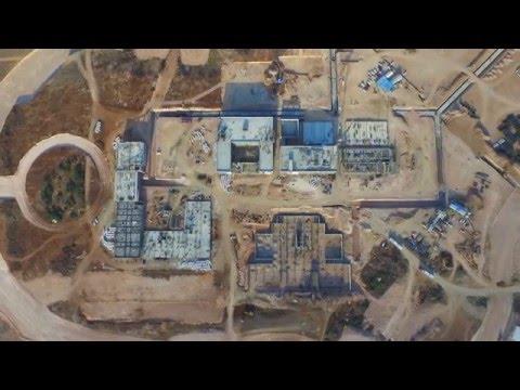 Arikoglu Arkitekt - Adana Science and Technology University, ABTU Adana TR Drone Video 16.12.2015