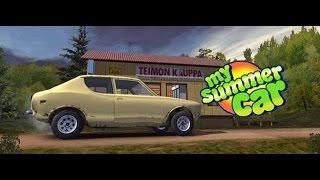 My Summer Car / Моя тачка на лето / пытаемся завести