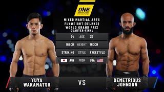 One Championship 92: Demetrious Johnson vs Yuyu Wakamatsu FULL FIGHT