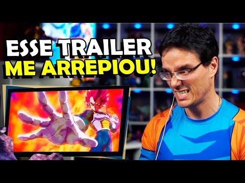 ESSE TRAILER REVELOU PRATICAMENTE TUDO! React Trailer 4 Dragon Ball Super Broly
