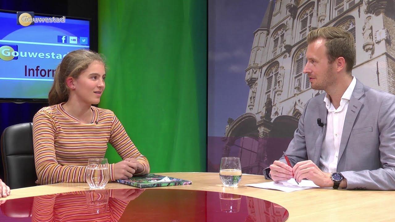 Eerste Junior Stadsdichter Gouda - Studiogesprek