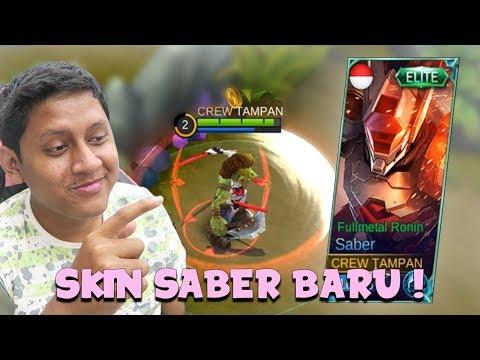 FULLMETAL RONIN SKIN BARU SABER ! - Mobile Legends Indonesia