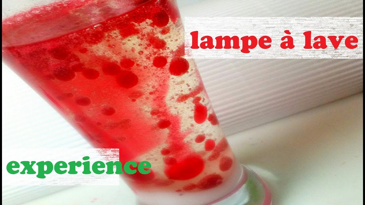 Experience Lampe A Lave Genial Youtube