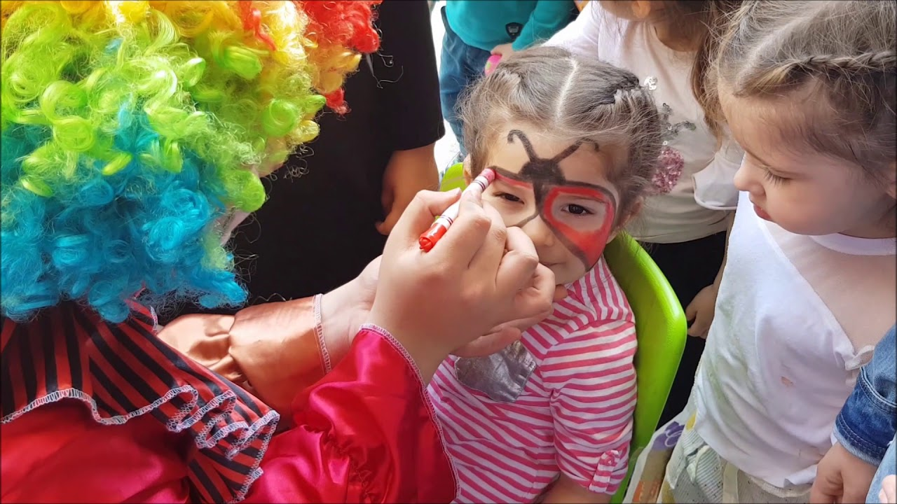 Yuz Boyama Kumsal Ugur Bocegi Oldu Cocuk Videosu Youtube