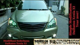 Modifikasi Harian Daihatsu Xenia XI 2007