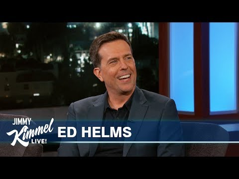 Ed Helms Did NOT Have An Affair With Demi Moore