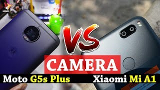 Camera Comparison Moto G5s Plus Vs Xiaomi Mi A1 | Clash Of Clans | Data Dock