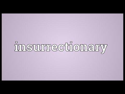 Header of insurrectionary
