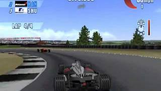 F1 Championship Season 2000 (PS1) - Indianapolis