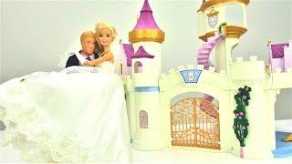 Куклы Барби - на свадьбе. Barbie и Кен