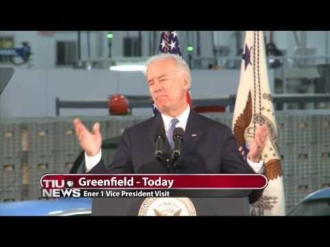 Biden Visits Greenfield Battery Maker