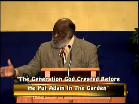 The Generation God Created Before He Put Adam In The Garden