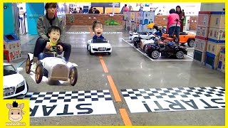 Indoor Playground Family Fun Play Area for Kids Drive Playtime Car | MariAndKids Toys