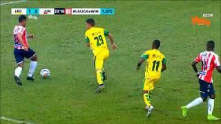 Leones vs. Junior (2-2) | Liga Aguila 2018-II | Fecha 12