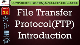 FTP – File Transfer Protocol – Introduction and Theory(Hindi, English) - Networking Lectures