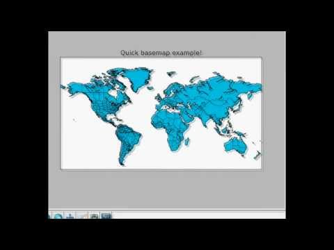 Geographical Plotting with Python Part 3 - More customization - YouTube