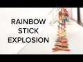 Rainbow Stick Explosion
