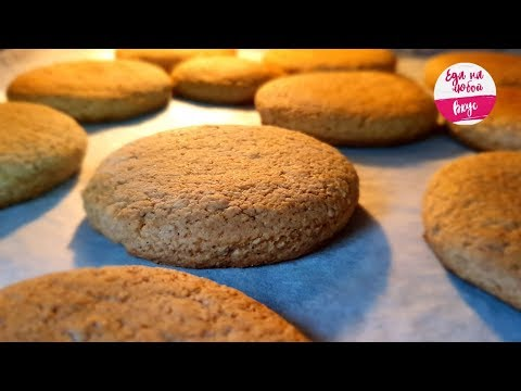Овсяное печенье в домашних условиях из овсяных классическое