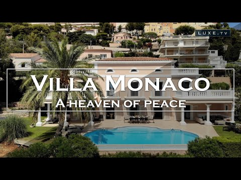 Monaco : Villa Monaco, a haven of peace two steps from the Princely Rock - LUXE.TV