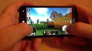 Survivalcraft Gameplay #3 Alpha1.5 On The Htc Titan.(for Android And Windows Phone)