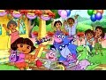 Dora the Explorer - Feast | Online Puzzle game for Toddlers | Best 2017
