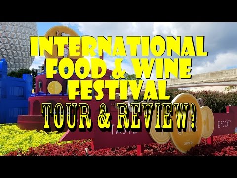 Epcot's International Food & Wine Festival 2016 Tour / Review!