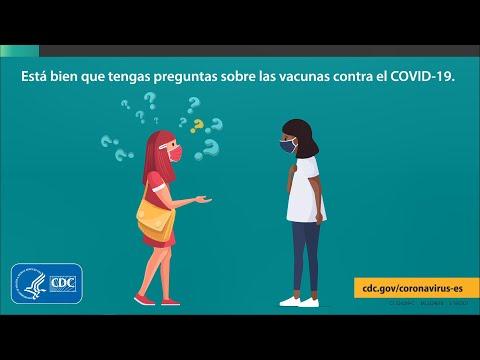 ¿Tienes preguntas sobre las vacunas contra el COVID-19? Te ayudaremos