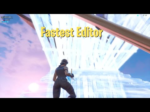 What It's Like To Spectate The FASTEST Editor In Fortnite (CRAZY Satisfying)