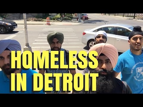 REFLECTION - Homeless In Detroit & What We Are Doing | Minority Mindset - Jaspreet Singh