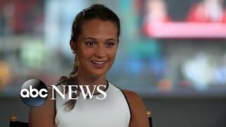 Alicia Vikander on Michael Fassbender, New Film