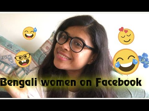 Bengali women on facebook/ bangla comedy video 2018 - YouTube