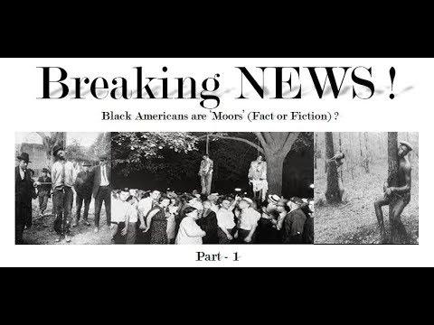 Breaking NEWS: Black Americans are Moors ?????