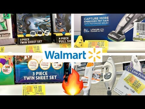 WALMART CLEARANCE!!! *ROLLBACK* VACUUMS, PET VACS, CARPET STAIN REMOVERS + KIDS BEDDING!!!