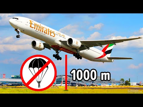 Why There Are No Parachutes on Passenger Planes