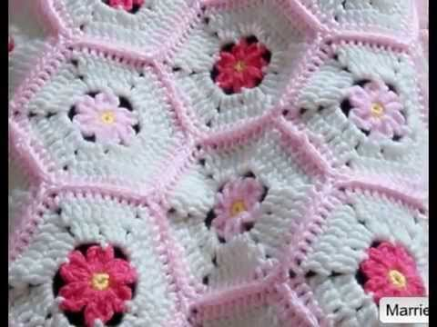 Crochet Patterns for free Crochet Baby Blanket 590 - YouTube