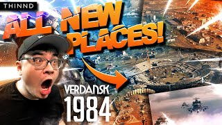 THINND: Warzone New Map Update: ALL Changes + Spots Overview! Verdansk 1984