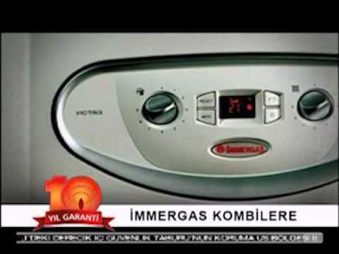 immergas 10 YIL GARANTİ reklamı.flv