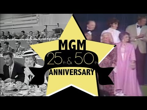 MGM Stars Gather in 1949 & 1974
