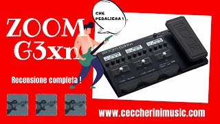 🎸 ZOOM G3xn - Pedale multieffetto con emulazione ampli e cabinet