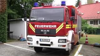 Nach Vollbrand - Freiwillige Feuerwehr München-Freimann wieder einsatzbereit