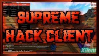 Supreme l Minecraft Hack Client! [Nice Aura?] w/Download