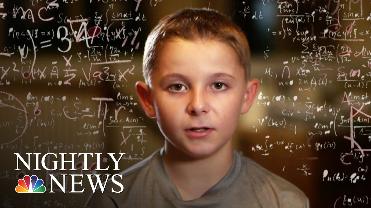 Inside The Mind Of Jaxon Cota An 11-Year-Old Kid Genius | NBC Nightly News by NBC News