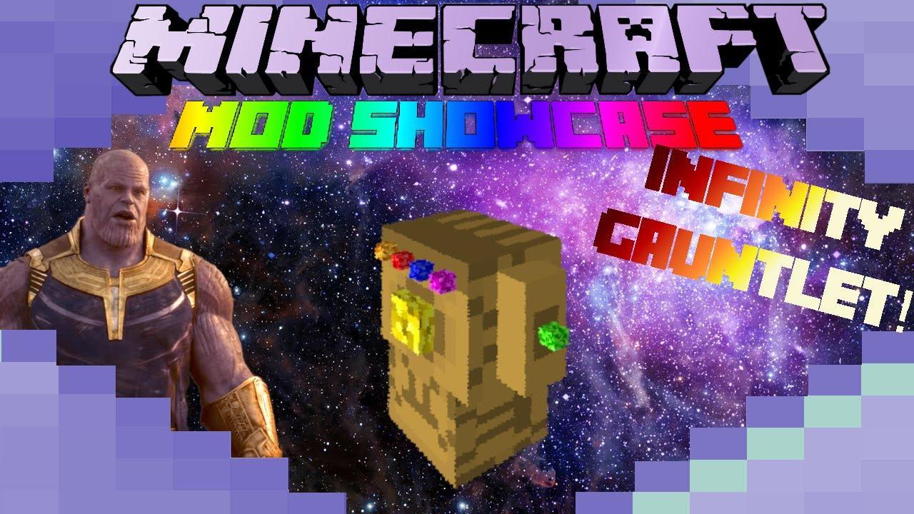 Avengers: Endgame - INFINITY GAUNTLET! - Minecraft Mod Showcase
