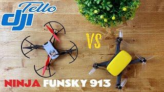 """DJI tello VS Ninja 913 """"piccoli droni a confronto"""""""