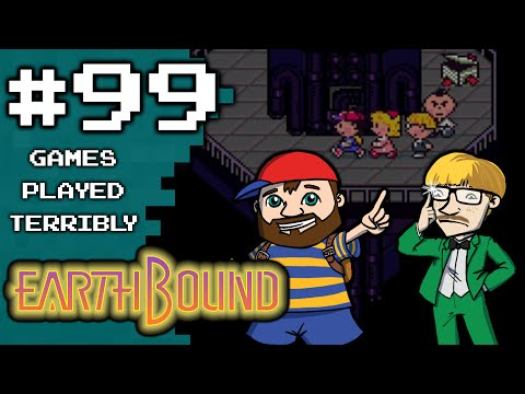 EarthBound Part 99 - The Farmening 10: White Snake - Games Played Terribly
